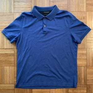 Men's Banana Republic Navy Blue Polo Shirt Large L
